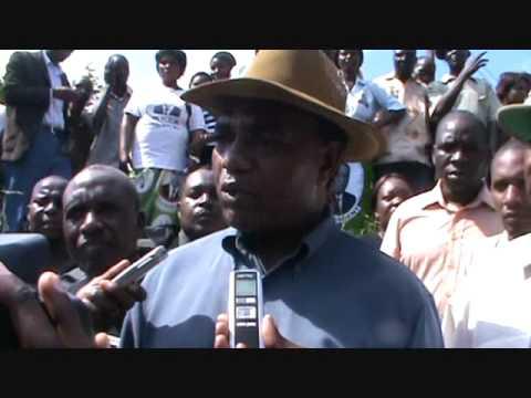 Hakainde Tours Water Logged Townships of Lusaka Part 1.wmv