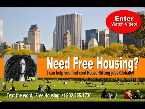Free Housing for People who have had Enough of America! (GlobalSharingCommunity.com)