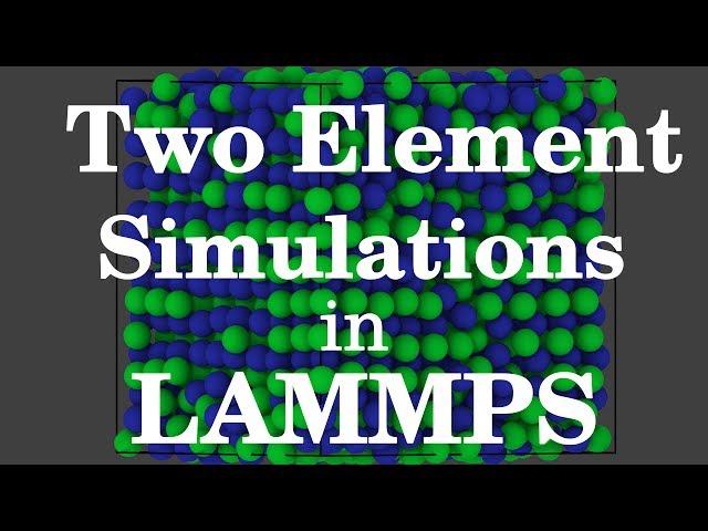lammps video, lammps clip