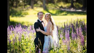 The Lodge at Tahoe Donner Wedding Photos