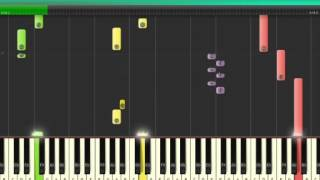 2pac my ambitionz az a ridah piano synthesia tutorial new with piano chords