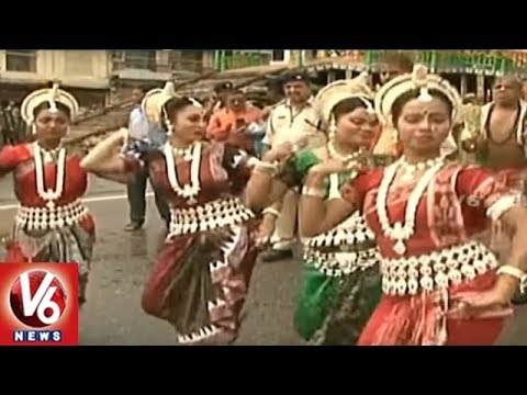 Jagannath Rath Yatra In Puri   Huge Devotees Participate In Yatra   Odisha   V6 News