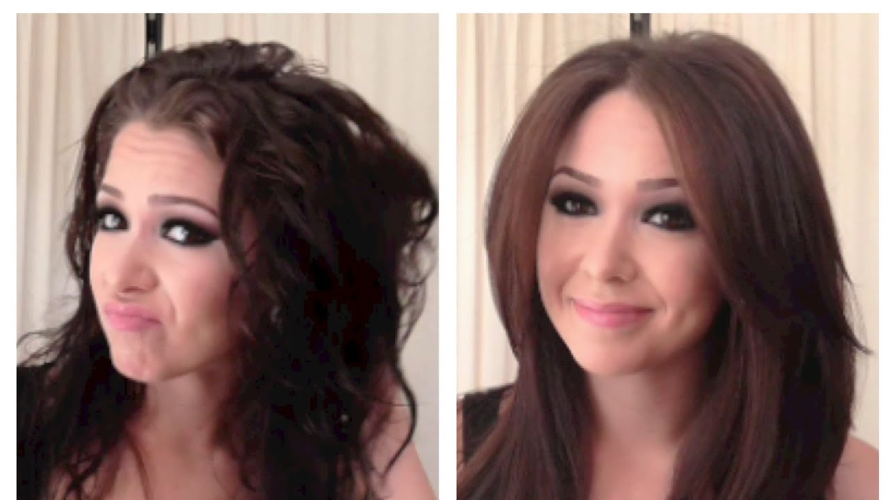 silky smooth blowout blowdry tutorial