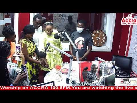 Obaapa Tycia Of Accra Fm Celebrates Her Birth Live On Radio