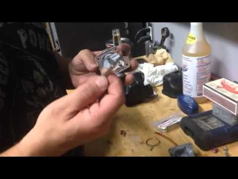 PW50 carburetor cleaning and parts