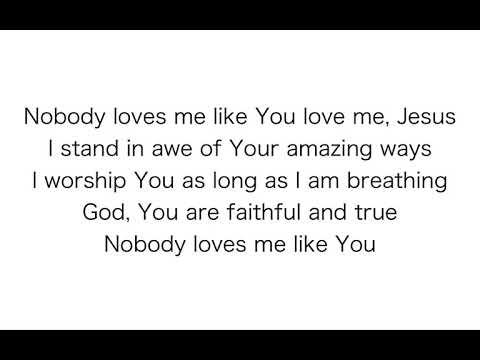 Chris Tomlin - Nobody Loves Me Like You (Official Music Video) ( advance lyrics )