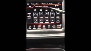 Dodge Hellcat Setting RPM for Track, Sport, Street Hellcat