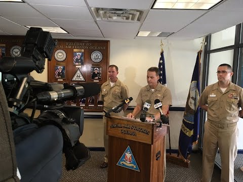 9 sailors face disciplinary action in Oceana jet fuel spill