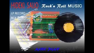 レコードプレーヤーVICTOR JL-B33Hで西城秀樹LPレコード「ロックン・ロ...