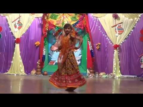 bansi bajegi radha nachegi-jnv gonda-dance performance
