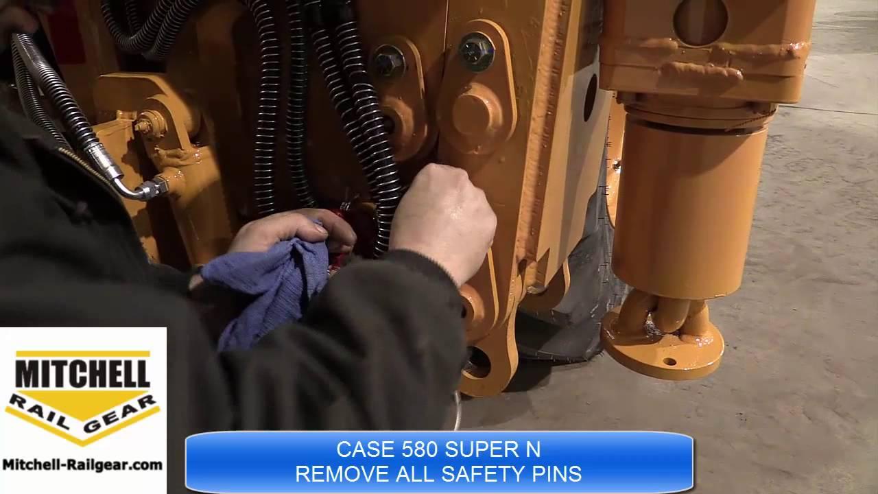 CASE 580 SUPER N INSTRUCTIONS