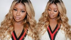 Affordable HONEY BLONDE Lace Wig Install | Super Easy To Follow | Ywigs