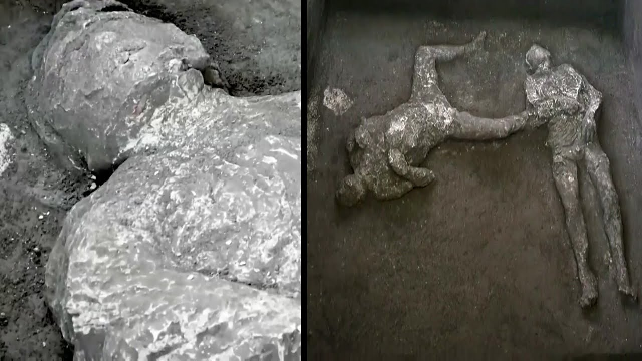 2 Ancient Skeletons Found in Pompeii Ruins