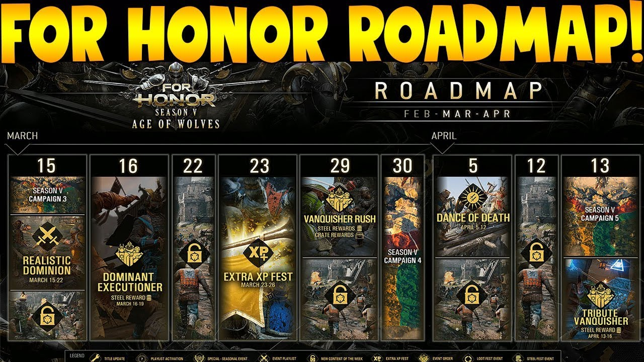 For honor console dedicated servers for honor april roadmap youtube - When is for honor season 6 ...
