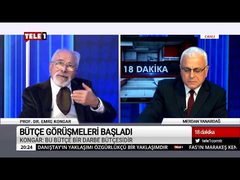 18 Dakika - (10 Aralık 2018) Merdan Yanardağ & Prof. Dr. Emre Kongar   Tele1 TV