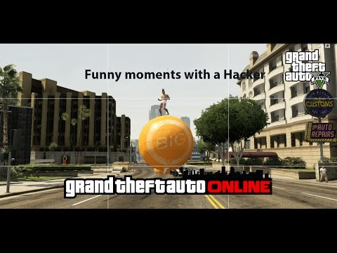 GTA 5 Funny Moments with a hacker