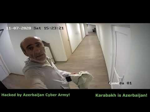 Armenia office camera hacked by Azerbaijan Cyber Army #3