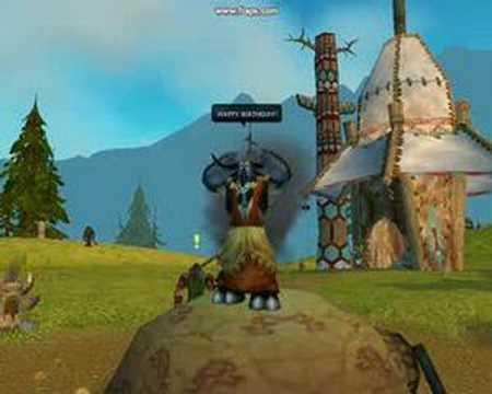 World Of Warcraft Happy Birthday Youtube