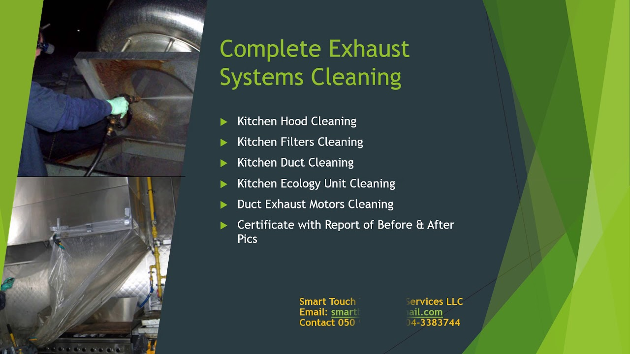 Kitchen Hood U0026 Exhaust Cleaning Company In Dubai