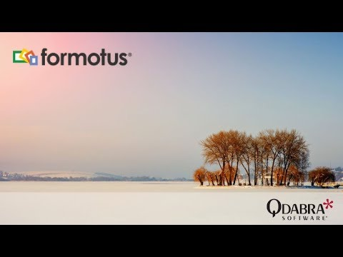 Formotus Creator - Build Your Own Mobile Forms Without InfoPath Designer: Qdabra Webinar