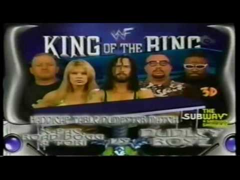 WWF King of the Ring 2000 Matchcard