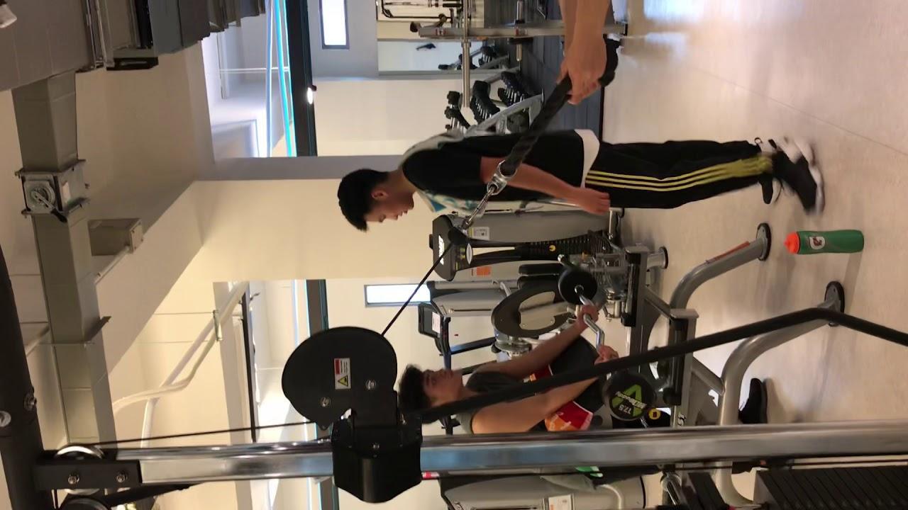 肱三頭肌訓練(蝴蝶袖)Triceps Extension - YouTube