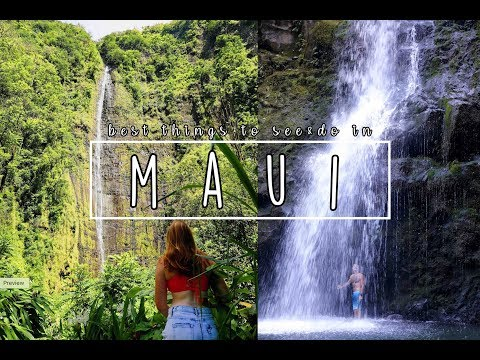 Best Things To See & Do In Maui / Hawaii Travel Guide