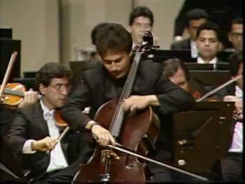 Bloch Schelomo Part 2. Cello: William Molina Cestari. Conductor: Mendi Rodan.