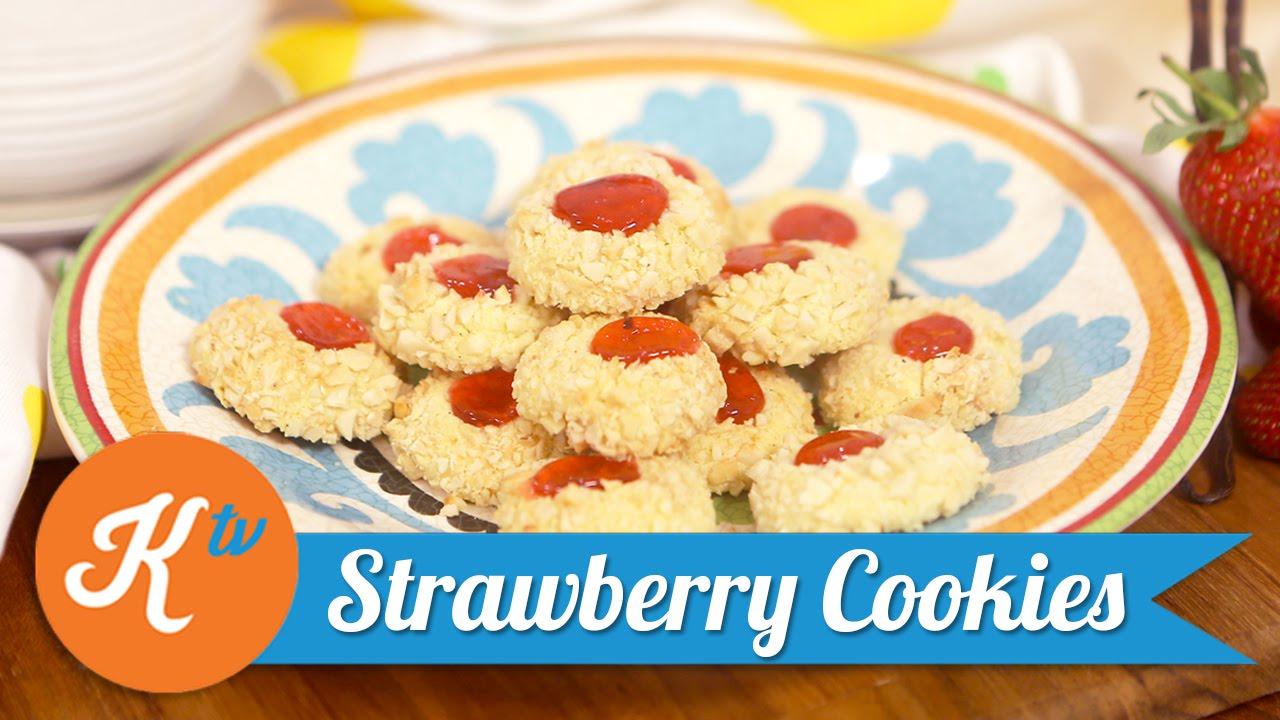 Resep Strawberry Cookies Farah Quinn Youtube