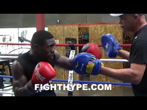 ANDRE BERTO READY TO FIGHT AGAIN, REVEALS TRAINER HUNTER; EYES 1 OR 2 MORE FIGHTS
