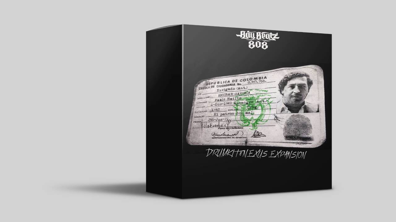 Pablo Escobar Nexus Trap Expansion ● Drum Kit ● Free Download ●