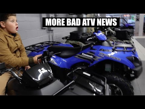 BAD NEWS ABOUT THE NEW ATV !!