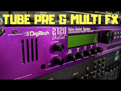 Digitech 2120 Artist  The Purple Monster