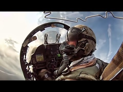 Harrier Jump Jet • AV-8B Cockpit Video