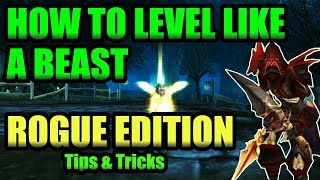 Classic WoW Rogue Leveling Guide! Level Like a BEAST!