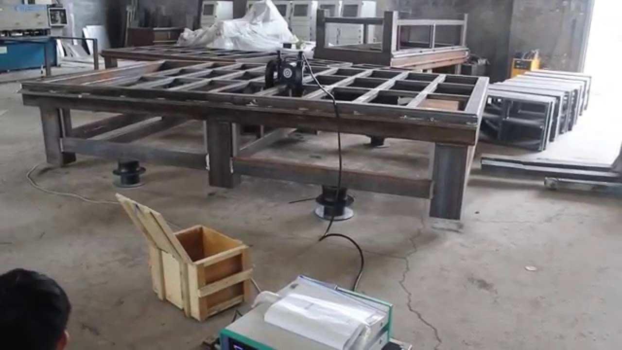 How We Welding Machine Frame Structure By Professional