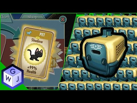 Fallout Shelter 40 Pet Carriers Opening Rare Finds
