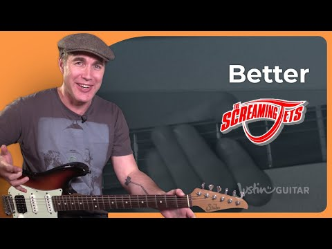 How to play Better by The Screaming Jets - Guitar Lesson Tutorial Aussie Classic (SB-511)