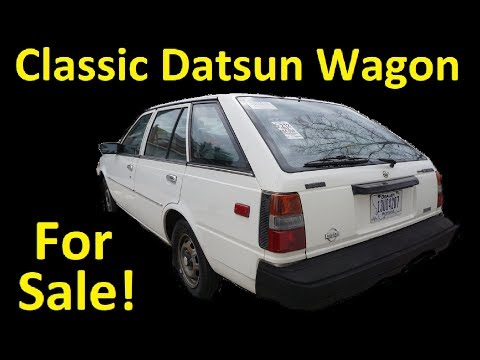 CLASSIC STATION WAGON ~ SUNNY SENTRA JDM 55K ORIG MI FOR SALE