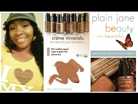 Plain Jane Beauty Liquid Foundation Review | Vegan + Cruelty Free | Organic Liquid Foundation