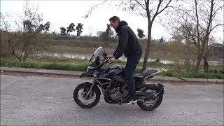 ZONTES 310cc Adventure motorcycle 2019 (test drive)