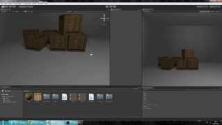 Урок №2 Unity3d открытие, закрытие, дверей!