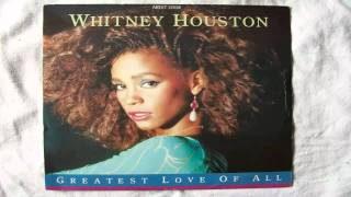 Whitney Houston-The Greatest Love Of All (Piano Instrumental)