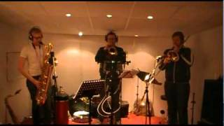 The Quiet Nights Orchestra - Studio Session with the Horn Section!!! (Part 2)