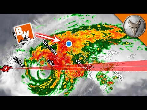 CAUGHT in a TYPHOON!