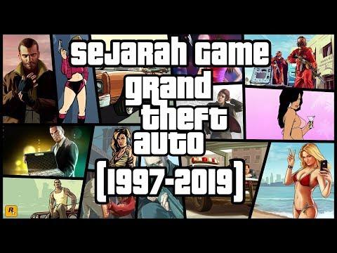 Sejarah Game GTA Grand Theft Auto (1997-2019)