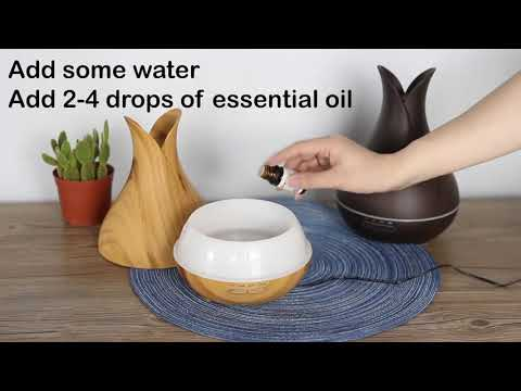 new-400ml-electric-aroma-essential-oil-diffuser-ultrasonic-vase-humidifier-with-wood-grain