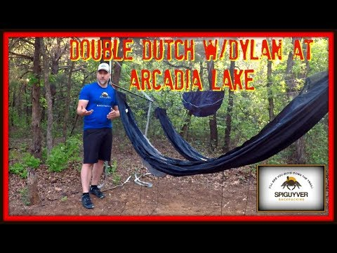 Double Dutch weekend with Dylan at Arcadia Lake