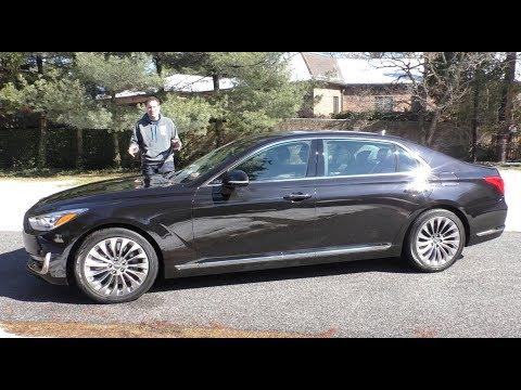 The Genesis G90 Is a 75,000 Hyundai Luxury Sedan