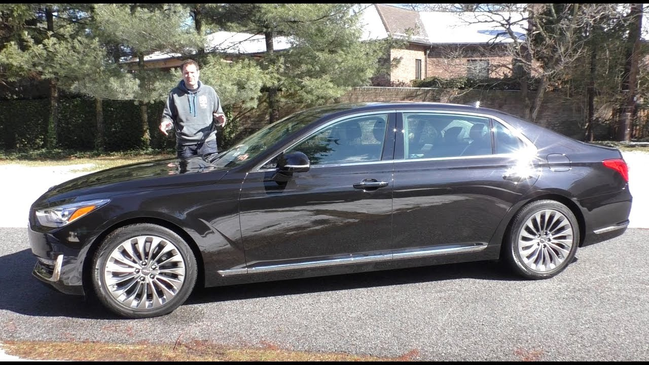The Genesis G90 Is a $75,000 Hyundai Luxury Sedan